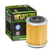 A HF143 Premium Hiflo Filtro oil filter for sale. This filter fits a variety of Yamaha dirtbikes and ATV's. Our online catalog has more new and used parts that will fit your unit!