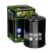 A HF198 Premium Hiflo Filtro oil filter for sale. This filter fits a variety of Polaris ATV's and UTV's. Our online catalog has more new and used parts that will fit your unit!