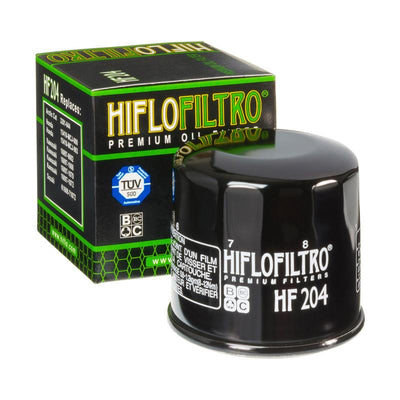A HF204 Premium Hiflo Filtro oil filter for sale. This filter fits a variety of Arctic Cat, Kawasaki, Yamaha ATV's and UTV's. Our online catalog has more new and used parts that will fit your unit!