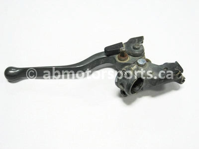 Used Honda ATV TRX 450 S OEM part # 53172-HM7-000 and 53192-HN0-A00 and 53180-HA8-770 and 53173-376-000 brake assembly for sale