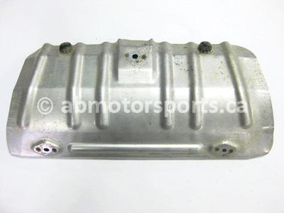 Used Honda ATV TRX 680 FA OEM part # 81325-HN8-000 muffler cover for sale