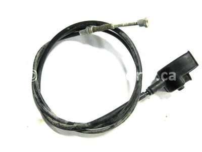 Used Honda ATV TRX 680 FA OEM part # 43460-HN8-A00 hand brake cable for sale