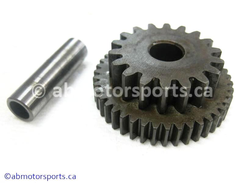 Used Honda ATV TRX 300 FW OEM part # 28140-HA0-770 starter reduction gear 43T 18T for sale