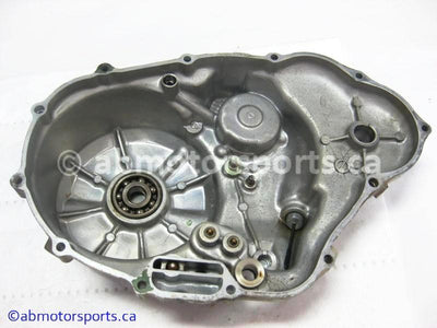 Used Honda ATV TRX 300 FW OEM part # 11330-HC4-010 right crankcase cover for sale