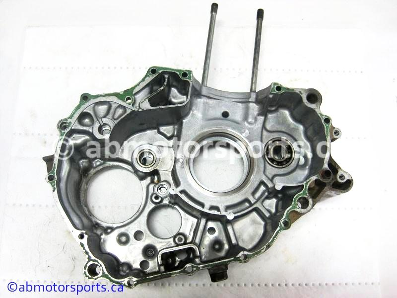 Used Honda ATV TRX 300 FW OEM part # 11200-HC5-020 left crankcase for sale