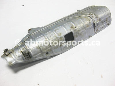 Used Honda ATV TRX 350D FOURTRAX 4X4 OEM part # 18315-HA7-770 exhaust shield for sale