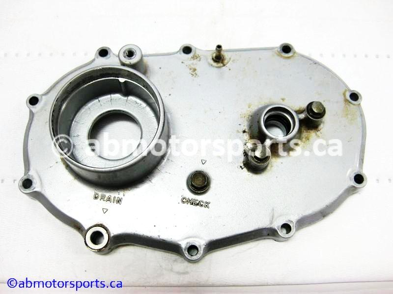 Used Honda ATV TRX 300 FW OEM part # 21502-HC5-020 front cover transfer case for sale
