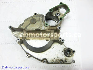 Used Honda ATV TRX 300 FW OEM part # 11341-HC5-000 left crankcase cover for sale