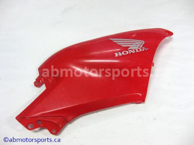 Used Honda ATV TRX 500 FM OEM part # 83550-HP0-A50ZA right side panel for sale