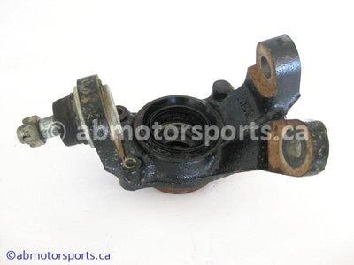 Used Honda ATV TRX 350 FM OEM part # 51200-HN5-670 OR 51200HN5670 front right knuckle for sale