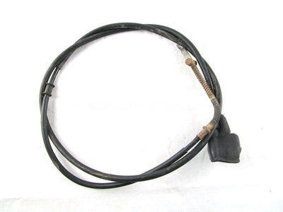 A used Hand Brake Cable Rear from a 2001 TRX350FE Honda OEM Part # 43460-HN5-670 for sale. Check out our online catalog for more parts!