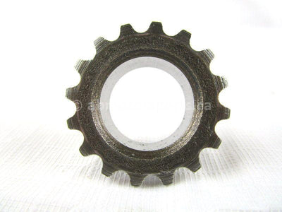 A used Sprocket 16T from a 1984 ATC 200ES Honda OEM Part # 14311-958-000  for sale. Check out our online catalog for more parts that will fit your unit!