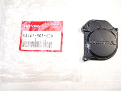 A new Throttle Case Cover for a 1989 TRX 350D Honda OEM Part # 53141-HC3-000 for sale. Honda ATV parts online? Oh, Yes! Find parts that fit your unit here!