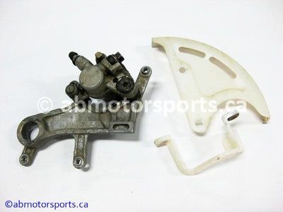 Used Honda Dirt Bike CRF 450R OEM part # 43150-KZ4-J41 rear brake caliper for sale