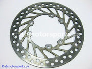 Used Honda Dirt Bike CRF 450R OEM part # 45351-KZ4-J30 front brake disc for sale