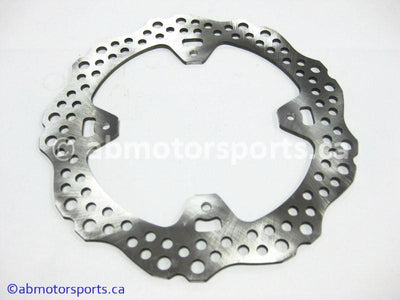 New Honda Dirt Bike CRF 250R OEM part # 43351-KRN-A30 or 43351KRNA30 rear brake disc for sale