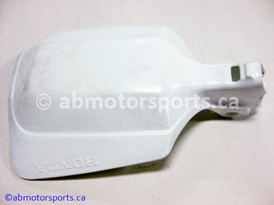 New Honda Dirt Bike XR 600R OEM part # 53185-KN5-670ZB left knuckle guard for sale