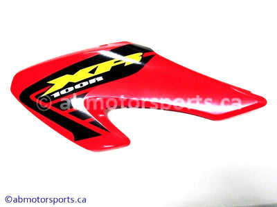 New Honda Dirt Bike XR 100R OEM part # 17555-KN4-A70ZA left engine panel for sale