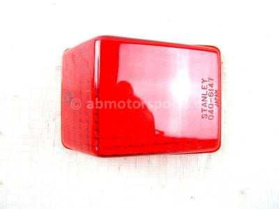 A new Tail Light Lens for a 1981 XR200R Honda OEM Part # 33141-MA0-003 for sale. Check out our online catalog for more parts that will fit your unit!
