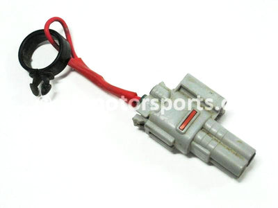 Used Kawasaki ATV BRUTE FORCE 750 OEM part # 46066-0001 46066-0001 reset connector for sale