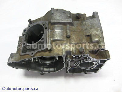 Used Kawasaki ATV KLF 300A OEM part # 14001-5210 crankcase for sale
