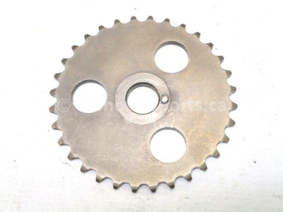 A used Cam Chain Sprocket from a 1987 BAYOU KLF300A Kawasaki OEM Part # 12046-1037 for sale. Looking for parts in Canada? Our online catalog has all you need!