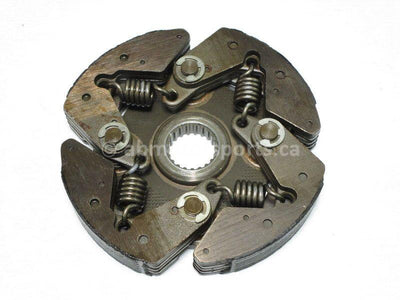 A used Centrifugal Clutch from a 1987 BAYOU KLF300A Kawasaki OEM Part # 41033-1937 for sale. Our online catalog has the parts you need!