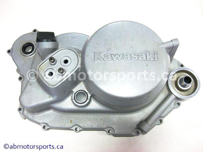Used Kawasaki Bayou 400 OEM Part # 14032-5021 clutch cover for sale
