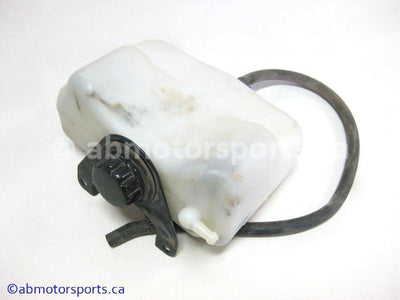 Used Kawasaki Bayou 400 OEM Part # 43078-1146 coolant reservoir for sale