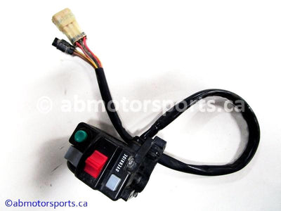 Used Kawasaki ATV BRUTE FORCE 750 OEM part # 46091-0111 handlebar control switch for sale