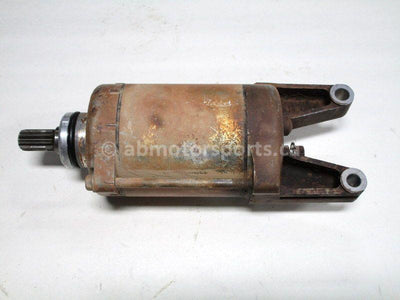 Used Kawasaki ATV BRUTE FORCE 750 OEM part # 21163-0037 starter motor for sale