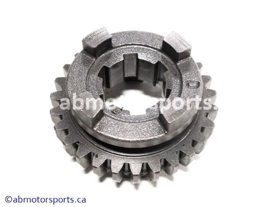 Used Kawasaki Dirt Bike KX 125 OEM part # 13260-1756 fifth output gear for sale
