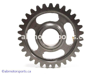 Used Kawasaki Dirt Bike KX 125 OEM part # 59051-1365 idler spur gear for sale