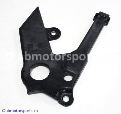 Used Kawasaki Dirt Bike KX 125 OEM part # 14090-1970-6Z frame pivot cover left for sale