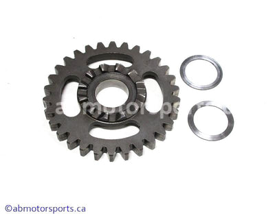Used Kawasaki Dirt Bike KX 125 OEM part # 59051-1364 kick starter spur gear for sale