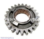 Used Kawasaki Dirt Bike KX 125 OEM part # 13260-1750 input gear for sale