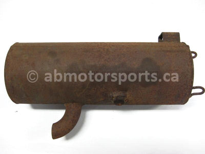 Used Polaris ATV SPORTSMAN 500 HO OEM part # 1261042-029 OR 1261042-489 exhaust silencer for sale