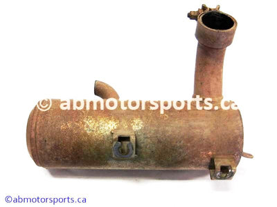 Used Polaris ATV SPORTSMAN 800 OEM part # 1261579 right exhaust silencer for sale