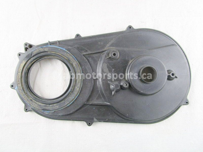 A used Inner Clutch Cover from a 2001 XPLORER 400 Polaris OEM Part # 2201159 for sale. Polaris ATV salvage parts! Check our online catalog for parts!