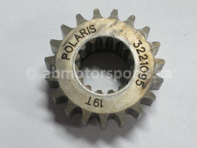 Used Polaris Snowmobile DRAGON 800 OEM part # 3221095 sprocket 19 teeth for sale