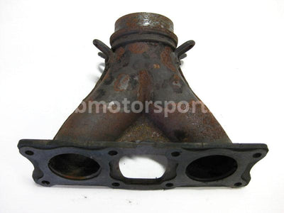 Used Polaris Snowmobile DRAGON 800 OEM part # 1261932-029 weld manifold for sale