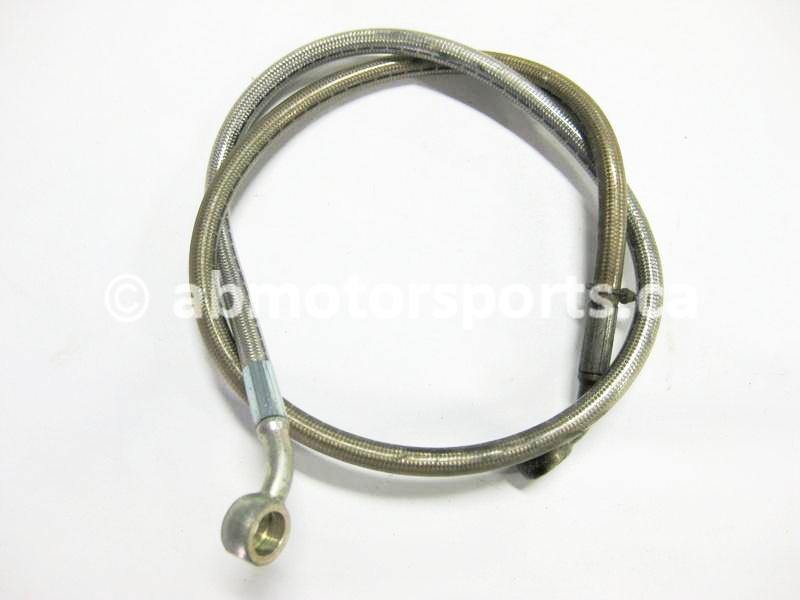 Used Polaris Snowmobile DRAGON 800 OEM part # 2203758 hydraulic brake line for sale