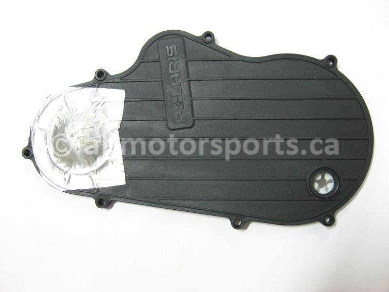 Used Polaris Snowmobile RMK 700 OEM part # 1332354 chain case cover for sale