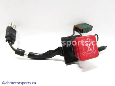 Used Polaris Snowmobile INDY LITE OEM Part # 4110106 OR 4013381 KILL SWITCH for sale
