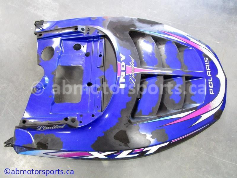 Used Polaris Snowmobile XLT LIMITED OEM part # 2631591-246 hood for sale