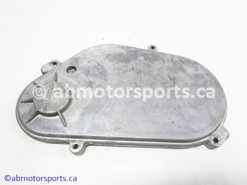 Used Polaris Snowmobile RMK 600 OEM part # 5630691 CHAINCASE COVER for sale