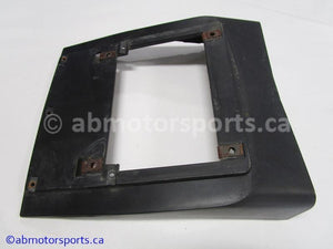Used Polaris Snowmobile RMK 600 OEM part # 5430922-070 INSTRUMENT HOUSING BOTTOM for sale