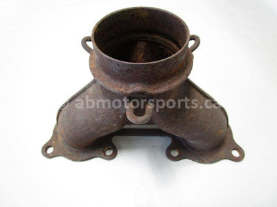 A used Exhaust Manifold Y Pipe from a 2005 RMK 900 Polaris OEM Part # 1261384-029 for sale. Online snowmobile parts in Alberta, shipping daily across Canada!