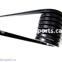 Used Polaris Snowmobile TRAIL RMK OEM part # 7041627-067 left torsion spring for sale