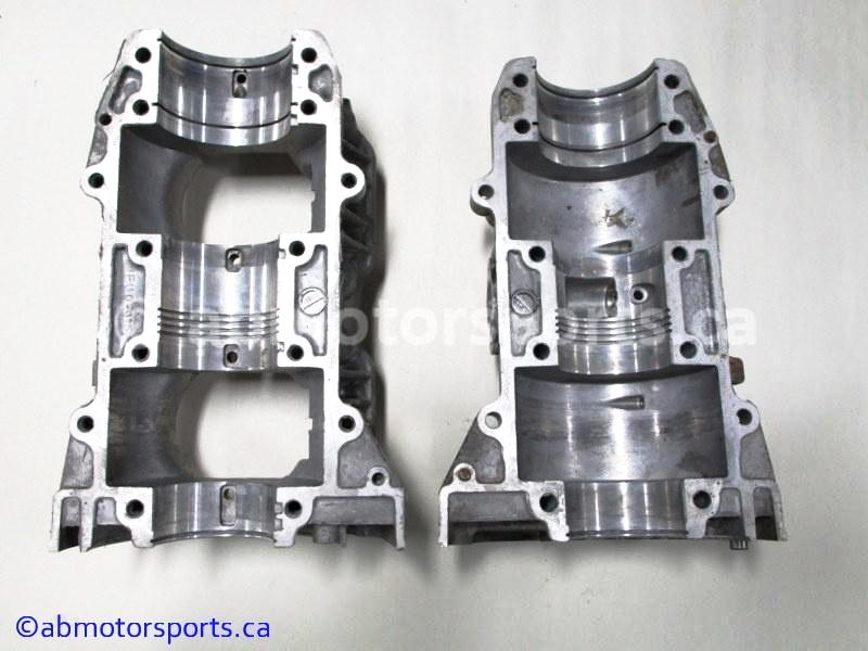 Used Polaris Snowmobile TRAIL RMK OEM part # 3089225 crankcase for sale